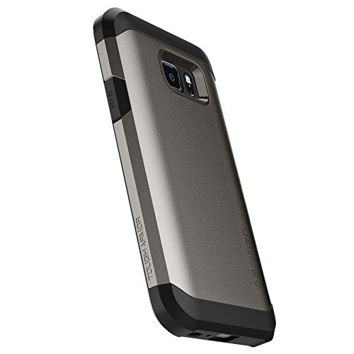 check out 4e67d 8ec5c Spigen Tough Armor Galaxy S7 Active Case with Extreme Heavy Duty Protection  and Air Cushion Techonology for Galaxy S7 Active 2016 - Gunmetal