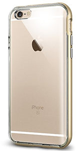 Spigen Neo Hybrid iPhone 6S Case with Flexible Inner Bumper and Reinforced Hard Frame for iPhone 6S / iPhone 6 - Champagne Gold