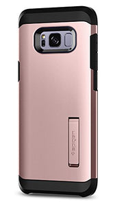 Spigen Tough Armor Galaxy S8 Plus Case with Kickstand and Extreme Heavy Duty Protection and Air Cushion Technology for Galaxy S8 Plus (2017) - Rose Gold