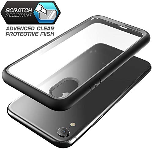 cheaper cee79 e220d iPhone XR case, SUPCASE [Unicorn Beetle Style Series] Premium Hybrid  Protective Clear Case for Apple iPhone XR 6.1 inch 2018 Release (Black)