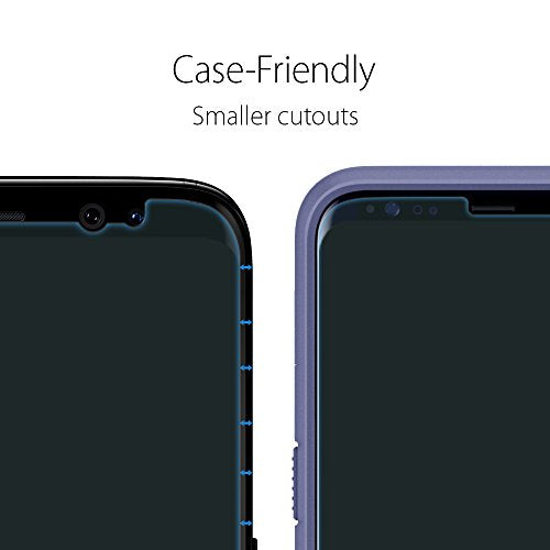 newest 2f100 23c40 Spigen Galaxy S8 Plus Screen Protector NeoFlex / 2 Pack / Case Friendly /  Wet Application for Samsung Galaxy S8+