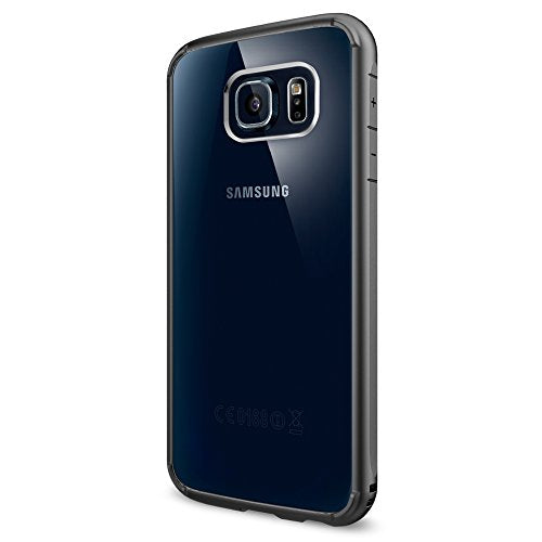 SPIGEN Carrying Case for Samsung Galaxy S6 - Retail Packaging - Gunmetal