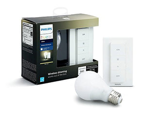 Philips Hue Smart Dimming Kit (Installation-Free, Exclusive for Philips Hue Lights, Works with Alexa, Apple HomeKit, and Google Assistant)