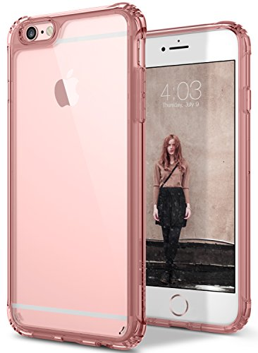 iPhone 6S Plus Case, Caseology [Waterfall Series] Slim Fit Clear Drop Protection [Rose Gold] for Apple iPhone 6S Plus (2015) & iPhone 6 Plus (2014)