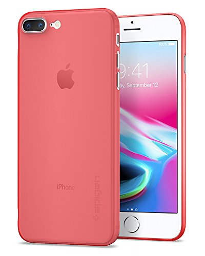 size 40 4ed7a 9224e Spigen Air Skin iPhone 8 Plus Case / iPhone 7 Plus Case with  Semi-transparent Lightweight Material for Apple iPhone 8 Plus (2017) /  Apple iPhone 7 ...