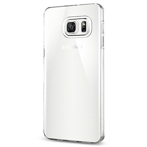 Spigen Liquid Crystal Galaxy S6 Edge Plus Case with Slim Protection and Premium Clarity for Galaxy S6 Edge Plus 2015 - Crystal Clear