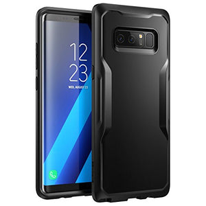 Samsung Galaxy Note 8 Case, SUPCASE Unicorn Beetle Series Premium Hybrid Protective Frost Clear Case for Samsung Galaxy Note 8 2017 Release, Retail Package (Black/Black)