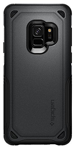 premium selection eaa76 c170a Spigen Hybrid Armor Galaxy S9 Case with Air Cushion Technology and Secure  Grip Drop Protection for Samsung Galaxy S9 (2018) - Graphite Gray