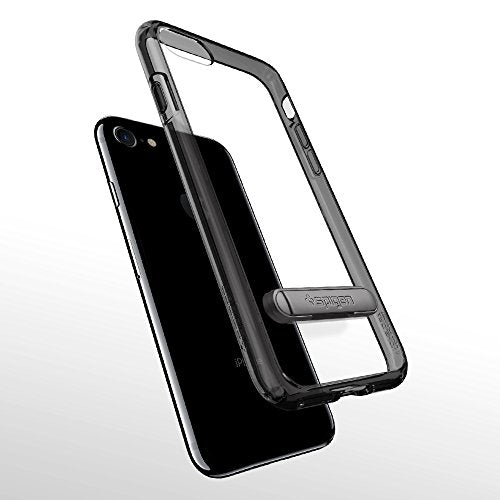 the best attitude ef219 91da4 Spigen Ultra Hybrid S [2nd Generation] iPhone 8 Case / iPhone 7 Case with  Air Cushion Technology and Magnetic Metal Kickstand for Apple iPhone 8 ...
