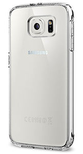 Spigen Ultra Hybrid Galaxy S6 Case with Air Cushion Technology and Hybrid Drop Protection for Galaxy S6 2015 - Crystal Clear
