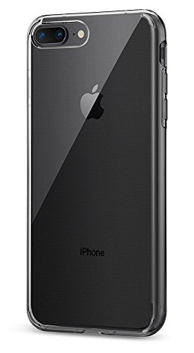 Spigen Liquid Crystal [2nd Generation] iPhone 8 Plus Case / iPhone 7 Plus Case with Premium Clarity for Apple iPhone 8 Plus (2017) / iPhone 7 Plus (2016) - Crystal Clear