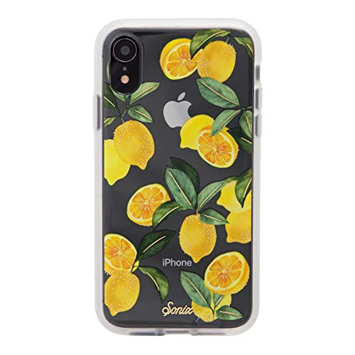 iPhone XR, Lemon Zest Cell Phone Case [Military Drop Test Certified] Women's Protective Clear Case for Apple iPhone (6.1