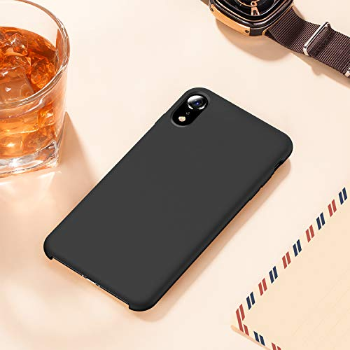 buy online eab52 0b8cc TORRAS [Love Series] iPhone XR Case, Liquid Silicone Gel Rubber Shockproof  Case Soft Microfiber Cloth Lining Cushion Compatible with iPhone XR (6.1