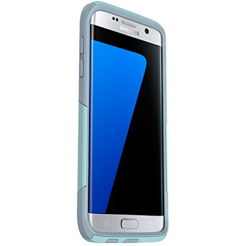OtterBox 77-53038 Commuter Series Case for Samsung Galaxy S7 Edge - Retail Packaging - Bahama Blue /Whitestone Blue