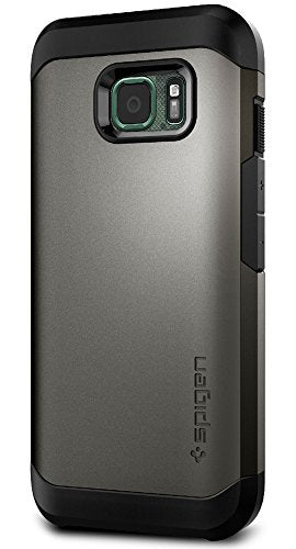 Spigen Tough Armor Galaxy S7 Active Case with Extreme Heavy Duty Protection and Air Cushion Techonology for Galaxy S7 Active 2016 - Gunmetal