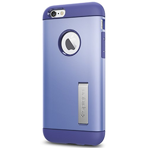 Spigen Slim Armor iPhone 6S Case with Kickstand and Air Cushion Technology Hybrid Drop Protection for iPhone 6S / iPhone 6 - Violet