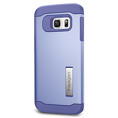 Spigen Slim Armor Galaxy S6 Edge Plus Case with Kickstand and Air Cushion Technology and Hybrid Drop Protection for Galaxy S6 Edge Plus 2015 - Violet