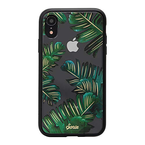 iPhone XR, Sonix Bahamas (Palm Leaf) Cell Phone Case [Military Drop Test Certified] Protective Clear Case for Apple iPhone (6.1