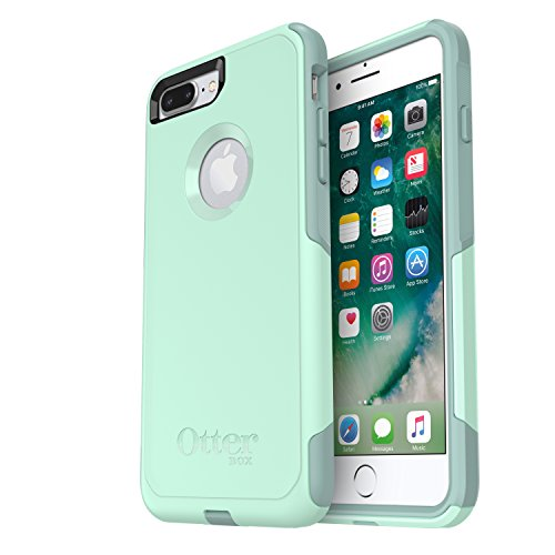 OtterBox COMMUTER SERIES Case for iPhone 8 Plus & iPhone 7 Plus (ONLY) - Frustrations Packaging - OCEAN WAY (AQUA SAIL/AQUIFER)