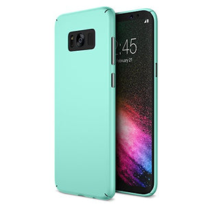 Maxboost mSnap Galaxy s8 Case [Perfect Fit] [Turquoise] EXTREME Smooth Surface with Anti-Slip Matte Coating for Excellent Grip Thin Hard Protective PC Covers for Samsung Galaxy s8 2017