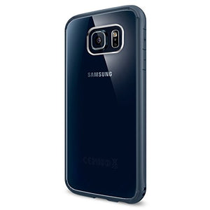 SPIGEN Carrying Case for Samsung Galaxy S6 - Retail Packaging - Metal Slate