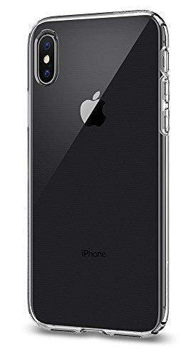 Spigen Liquid Crystal iPhone X Case with Slim Protection and Premium Clarity for Apple iPhone X (2017) - Crystal Clear