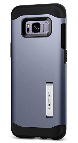 Spigen Slim Armor Galaxy S8 Case with Air Cushion Technology and Hybrid Drop Protection for Galaxy S8 - Orchid Gray