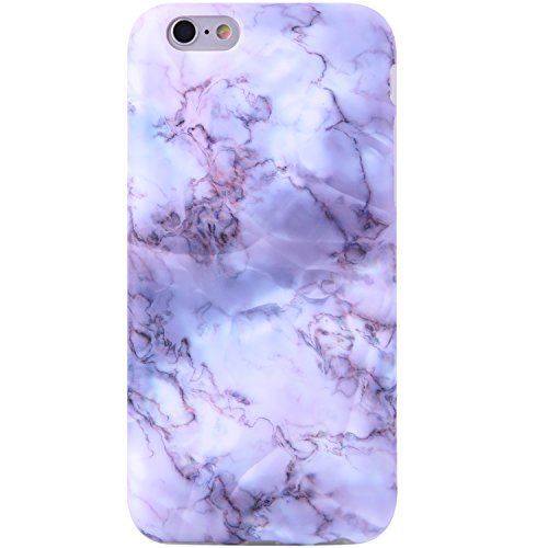 iPhone 6 Case,iPhone 6s Case Marble opal, VIVIBIN Shock Absorption Anti Scratch IMD Soft TPU Silicon Gel Protective Cover Case for Regula iPhone 6 / iPhone 6s - 4.7