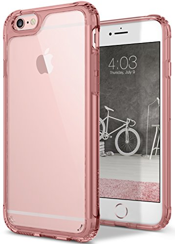 iPhone 6S Case, Caseology [Waterfall Series] Slim Transparent Clear Cover Slim Drop Protection [Rose Gold] [Air Space Tech] for Apple iPhone 6S (2015) & iPhone 6 (2014)