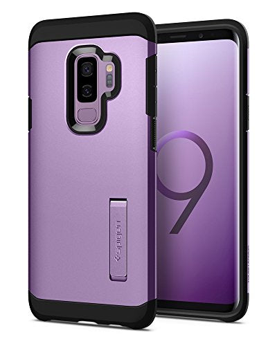 Spigen Tough Armor Galaxy S9 Plus Case with Reinforced Kickstand and Heavy Duty Protection and Air Cushion Technology for Samsung Galaxy S9 Plus (2018) - Lilac Purple