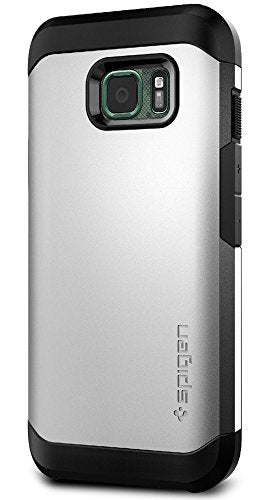 Spigen Tough Armor Galaxy S7 Active Case with Extreme Heavy Duty Protection and Air Cushion Techonology for Galaxy S7 Active 2016 - Satin Silver