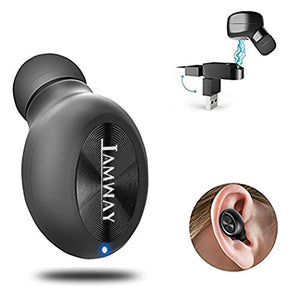 I AMWAY Single bluetooth earpiece,with magnetic USB Dock,Bluetooth 4.1,sweat proof ,ture wireless mini bluetooth earbuds,in ear earpiece for iphone samsung ipad laptop.