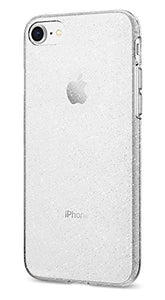 Spigen Liquid Crystal [2nd Generation] iPhone 8 Case / iPhone 7 Case with Slim Protection and Premium Clarity for Apple iPhone 8 (2017) / iPhone 7 (2016) - Glitter Crystal Quartz