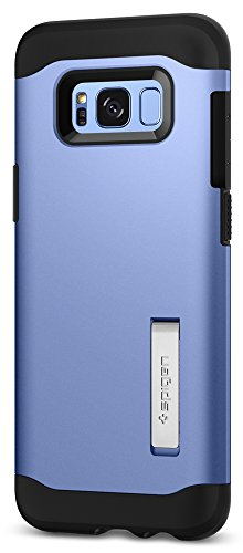 Spigen Slim Armor Galaxy S8 Case with Air Cushion Technology and Hybrid Drop Protection for Galaxy S8 (2017) - Coral Blue