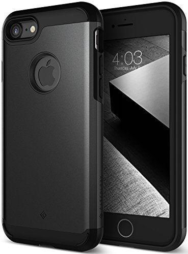 iPhone 7 Case, Caseology [Legion Series] Heavy Duty Protection Slim Protective Rugged Dual Layer Corner Cushion Design for Apple iPhone 7 (2016) Only - Matte Black