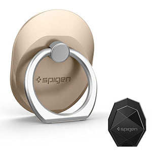 Spigen Style Ring Phone Grip Car Mount/Stand/Holder/Kickstand for iPhone X / 8 / 8 plus / 7 / 7 Plus / 6S / 6S Plus / Galaxy Note 8 / S8 / S8 Plus/S7 Edge & More and Almost All Phones - Champagne Gold