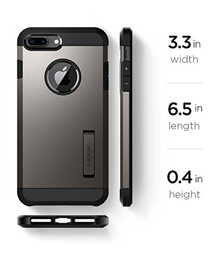 finest selection fb78e 3d98f Spigen Tough Armor [2nd Generation] iPhone 8 Plus Case / iPhone 7 Plus Case  with Kickstand Air Cushion Technology for Apple iPhone 8 Plus (2017) / ...