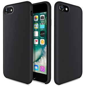 ce6f48fea9 iPhone 8 Case, iPhone 7 Silicone Case, TOTU Liquid Silicone Gel Rubber Full  Body