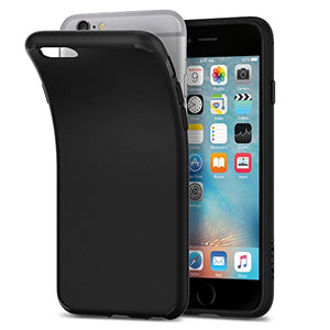 Spigen Liquid Crystal iPhone 6s Case with Slim Protection and Premium Clarity for iPhone 6s/6 - Matte Black