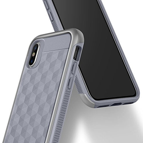 best service 12a08 50b7e iPhone X Case, Caseology [Parallax Series] Slim Protective Dual Layer  Textured Cover Secure Grip Geometric Design for Apple iPhone X (2017) -  Ocean ...