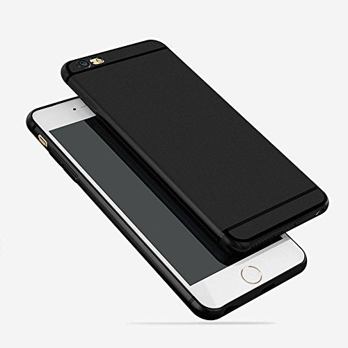 cheap for discount 6dc7b 06e6a iPhone 6 Case, iPhone 6S Case, CC Kimico [Ultra-Thin] & [Soft touch]  Premium Matte TPU Protect Cover for iPhone 6/6s 4.7 inch (Black)