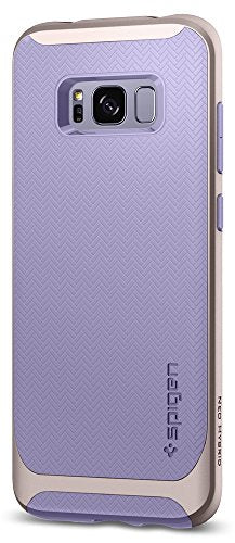 Spigen Neo Hybrid Galaxy S8 Plus Case Herringbone with Flexible Inner Protection and Reinforced Hard Bumper Frame for Galaxy S8 Plus (2017) - Violet
