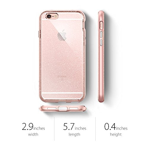 9d930d1632 ... Spigen Neo Hybrid EX iPhone 6s Case with Flexible Inner Bumper and  Reinforced Hard Frame for ...