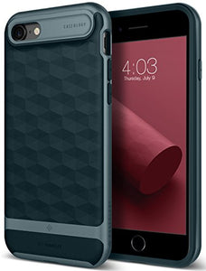 pretty nice 1e06a f8d5b iPhone 8 Case / iPhone 7 Case Caseology [Parallax Series] Slim Protective  Dual Layer Textured Cover Secure Grip Geometric Design for Apple iPhone 8  ...