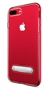new concept dac42 0bb67 Spigen Crystal Hybrid iPhone 7 Plus / iPhone 8 Plus Case with Water-Mark  Clear Case and Magnetic Metal Kickstand for Apple iPhone 7 Plus (2016) / ...