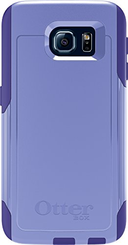 OtterBox COMMUTER SERIES for Samsung Galaxy S6 - Retail Packaging - Purple Amethyst (Periwinkle Purple/Liberty Purple)