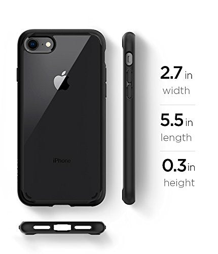 info for 36725 05acc Spigen Ultra Hybrid [2nd Generation] iPhone 7 Case / iPhone 8 Case with  Clear Air Cushion Technology for Apple iPhone 7 (2016) / iPhone 8 (2017) -  ...