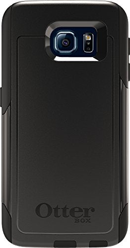 OtterBox COMMUTER SERIES for Samsung Galaxy S6 - Retail Packaging - Black