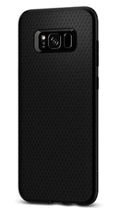 Spigen Liquid Air Armor Galaxy S8 Plus Case with Durable Flex and Easy Grip Design for Samsung Galaxy S8 Plus (2017) - Black
