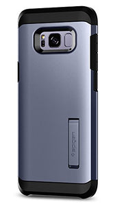 Spigen Tough Armor Galaxy S8 Case with Kickstand and Extreme Heavy Duty Protection and Air Cushion Technology for Galaxy S8 - Orchid Gray